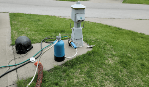 OTG4-DBLSOFT – Portable RV Water Softener