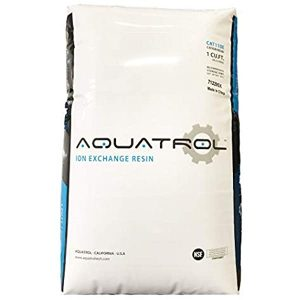Aquatrol water softener resin