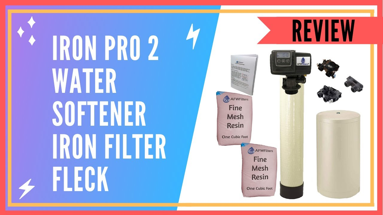 Iron Pro 2 Water Softener and Filter