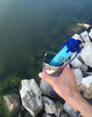 LifeStraw - Best wate filter for Hiking, Camping, Travel, and Emergency Preparedness