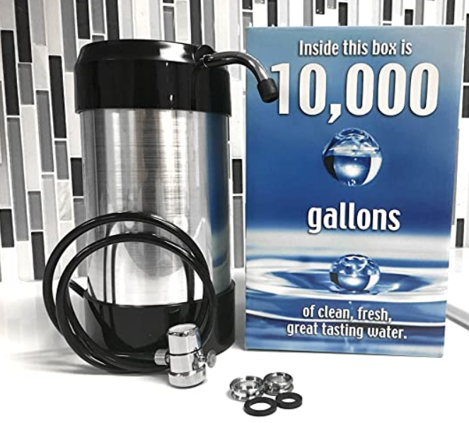 cleanwater4less Countertop Water Filtration System