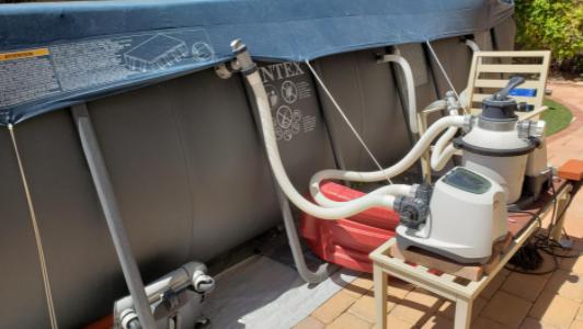 Intex Krystal Clear - best salt water chlorinator for above ground pools